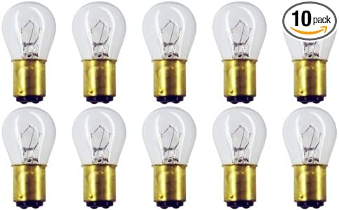 pack of 5 #624 Automotive Incandescent Bulbs