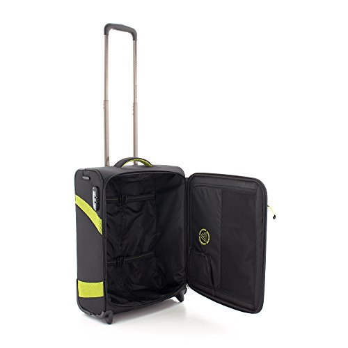 Roncato Trolley Laptop Rollkoffer, 39 liters, Schwarz (Nero)