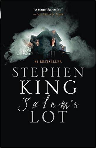 Amazon Fr Salem S Lot Stephen King Livres