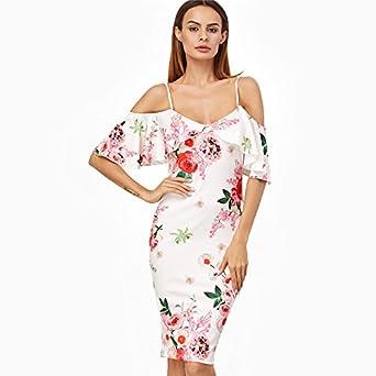 Vestidos Ropa De Moda 2017 Para Mujer De Fiesta y Noche Elegante (S) VE0043 at Amazon Womens Clothing store: