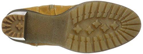 Hilfiger Denim Damen C1385leo 14b Combat Boots Gelb (Spruce Yellow)