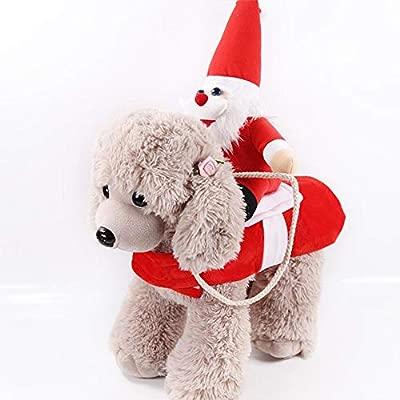 wonderday Disfraz de Navidad para Mascotas, Ropa de Navidad ...
