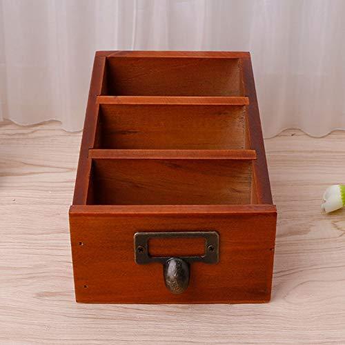 Caja de almacenamiento – Organizador de maquillaje de escritorio ...