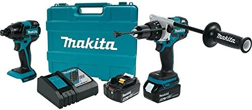 Makita XT257TB 18V LXT Lithium-Ion Brushless Cordless 2-Pc. Combo Kit 5.0Ah