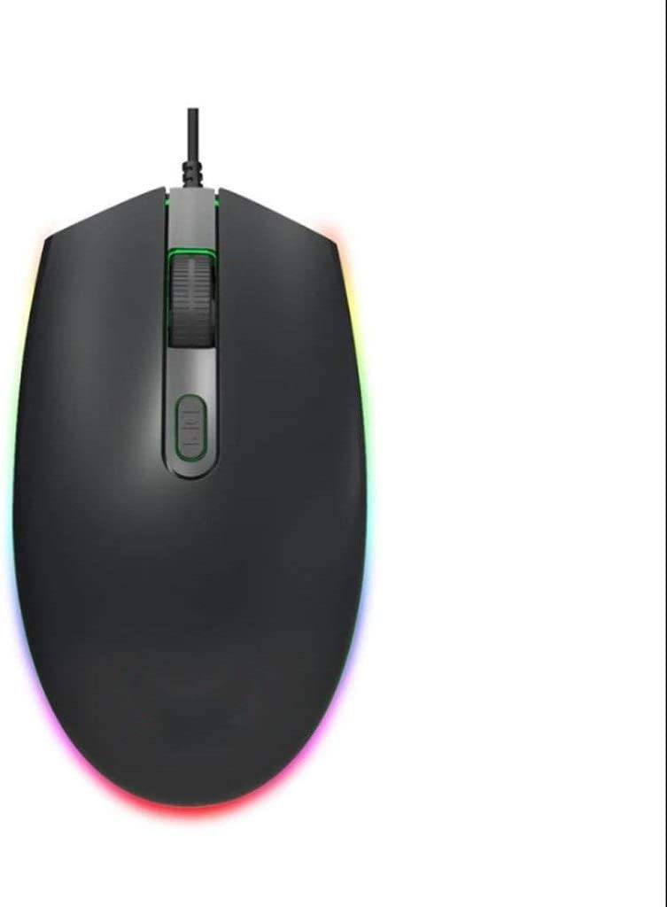 LEZDPP Mouse Wired Mouse USB Computer Office Notebook Desktop Business Home Internet Cafe Gaming Mouse