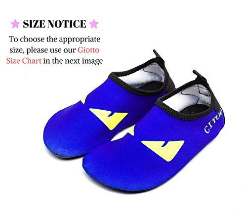 Giotto Kids Zwemwaterschoenen Sneldrogend Antislip Voor Jongens En Meisjes K-blauw