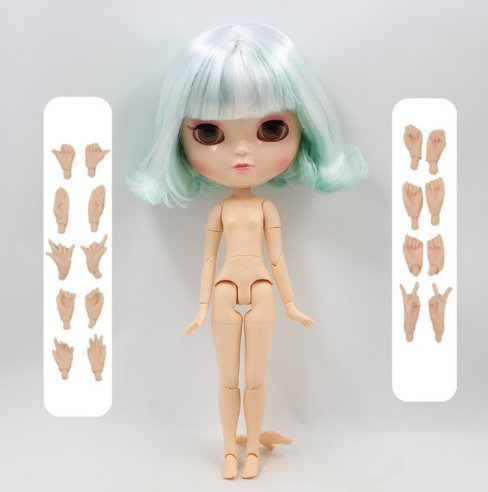 Dream fairy ICY dolls Fortune Days Toys 12 inch nude doll with natural skin and small breast joint body like blythe. (150BL136/4006, 30cm) (Best Natural Breast Photos)