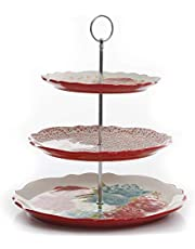 The Pioneer Woman Blossom Jubilee 3-Tier Serving Tray (1)