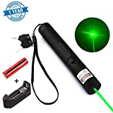 6. Whispex High Power Multi Functional Green Pointer Tactical Hunting Sight Outdoor Recreational Camping Outdoor Hiking LED Flashlight Hand held Flashlight