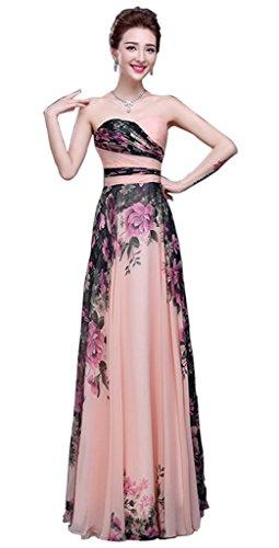 Damen Damen Kleid Bandeau Drasawee Kleid Drasawee Bandeau WRx1P8qT