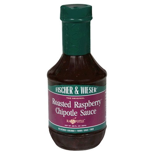 - Fischer & Wieser Fruit Sauce 20oz Bottle (Pack of 3) Choose Flavor Below (Razzpotle - Roasted Raspberry Chipotle)