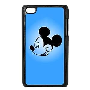 ipod 4 Black phone case Disney Cartoon Characters Mickey MouseDMU5723311