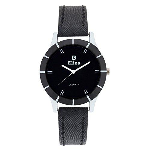Elios Colors Monochrome Analog Black Dial Women's Watch