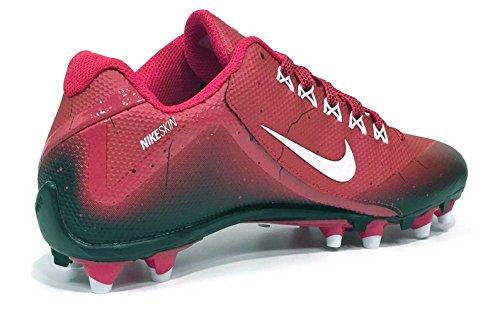 Nike Herren Alpha Pro 2 Fußballschuh Spiel Rot / Weiß / Schwarz
