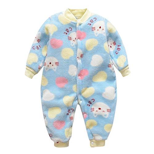 Mgk In A Suit (Mayunn Newborn Baby Boys Girls Cotton Cartoon Fleece Warm Romper Jumpsuit Soft Pajamas Outfits Set Clothes)