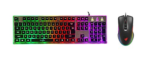 Redgear G-20 Gaming Keyboard and Mouse Combo with RGB Backlit Keyboard