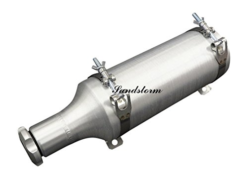 - Sandstorm 4x10 BAM Fuel Bottle/Tube - 1/2 Gallon - with stainless steel brackets - Made in the USA!