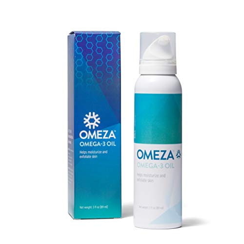 Omeza Omega 3 Oil - Relief from Eczema, Psoriasis and Dermatitis Symptoms. Clinically Proven Formula Provides Instant Relief for Severely Dry and Cracked Skin.