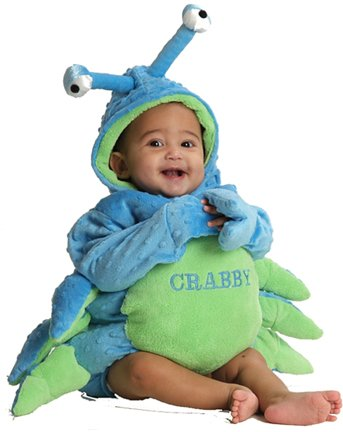 Crabby Baby Infant Costume - Baby (Crab Costume Baby)