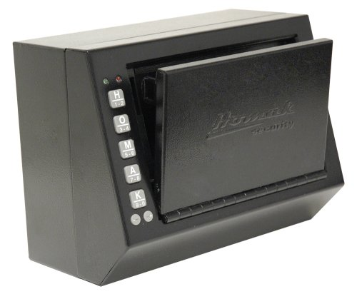 Homak HS10036684 10 x 5.5 x 7.5 Inch Electronic Access Pistol Box