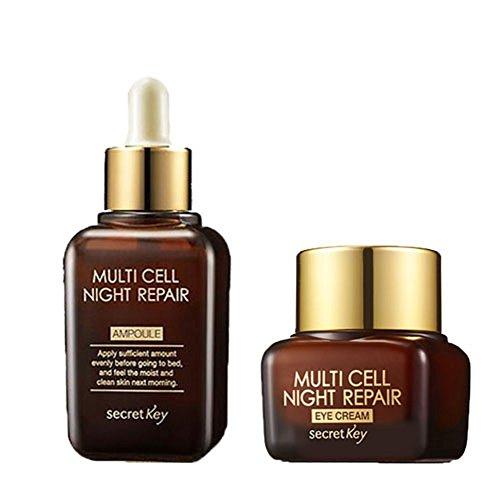 Secret Key Multi Cell Night Repair Ampoule & Eye Cream 2pc set