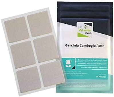 Amazon Com Garcinia Cambogia Topical Patch By Mvp 1 Month Supply Health Personal Care