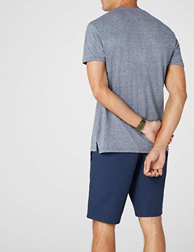Pocket Tommy black T Courtes Homme 002 Manches Iris Essential Jeans shirt Bleu rO7ZtBwrWq