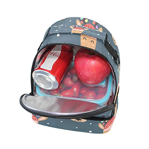 la ajustable escuela con pincnic Alinlo de almuerzo para para Bolsa hombro correa aislada de el HYa4Pwq