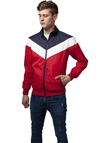 Arrow Urban Zip 857 wht Hombre nvy Para Chaqueta Classics Mehrfarbig red Jacket 7wwErq5xOP
