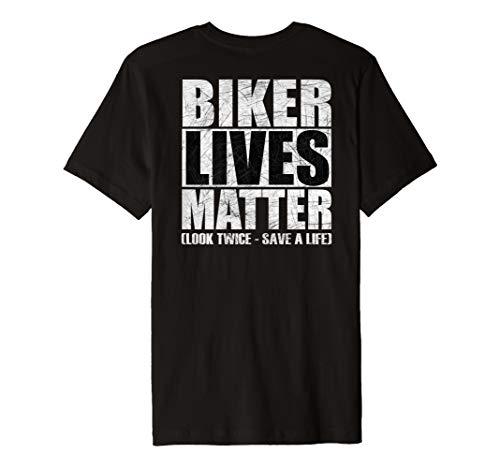 Biker Lives Matter Shirt Motorcycle Tee (Back Design)