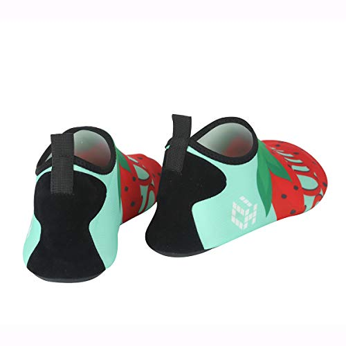 Surf Socks Dry Barefoot Aqua Yoga Strawberry for Shoes Mens Quick Water Swim and Beach Vaincre Exercise Womens wU0Aqz0O