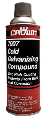 Crown Cold Galvanizing Compound - Cold Galvanizing Compound, 16 oz Aerosol CN (36 Pack)