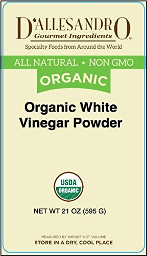 Organic White Vinegar Powder, 21 Ounce Jar