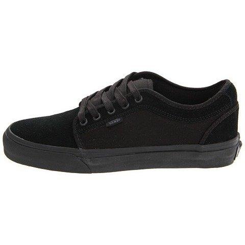 [バンズ]Vans メンズ CHUKKA LOW スニーカー BLACK/BLACK ブラック US7(25.0cm) [並行輸入品]