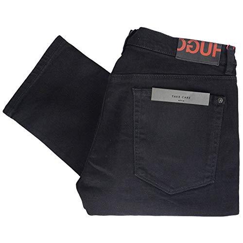 Hugo Boss Hugo 708 Cotton Slim Fit Black Red Label Jeans W32 - L32 Black