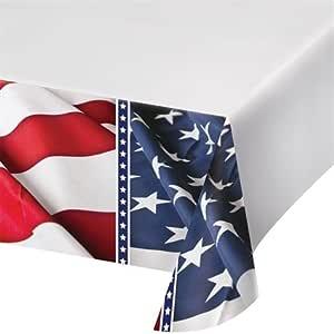 Mantel 137 cm x 259 cm Bandera de Estados Unidos (pantalla): Amazon.es: Hogar