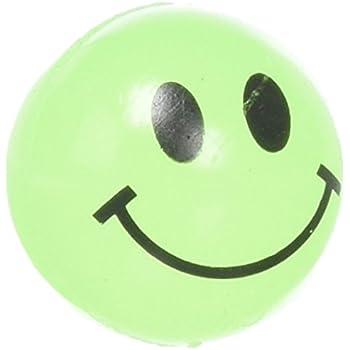 Glow In The Dark Smile Face Balls (144 pc)