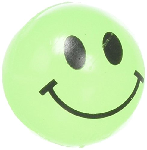 Rhode Island Novelty Glow In The Dark Smile Face Balls (144 pc) -
