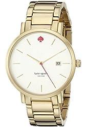 kate spade new york Women's 1YRU0009 Gramercy Gold-Tone Stainless Steel Watch