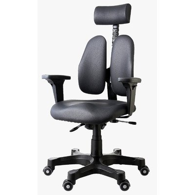 Leaders Executive Office Chair Fabric: Synthetic Leather by Duorest
