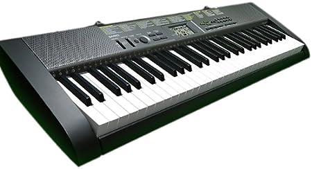 Órgano Musical Digital CASIO CTK-1250- Pantalla LCD, 61 ...