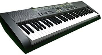 Órgano Musical Digital CASIO CTK-1250- Pantalla LCD, 61 Teclas, 100 Tonos