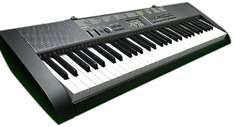 Órgano Musical Digital CASIO CTK-1250- Pantalla LCD, 61 Teclas, 100 Tonos, 100 Ritmos, 100 Melodias, Amplificador: 2W+2W: Amazon.es: Instrumentos musicales