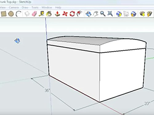 SketchUp Basics: Trunk Lid Part 1