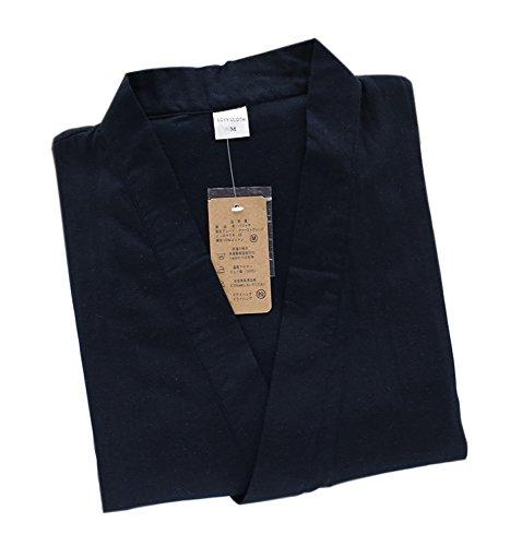 Marshel Japanese loungewear Jinbei Men's AX-JP-JI-001 Navy L