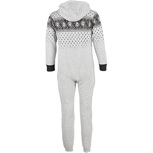 a6270f9b1 Kids Ripstop Jonesy Onesie Light Grey Marl Childs Junior (Size XLB ...