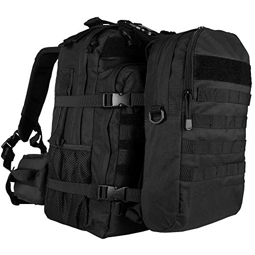 Fox Outdoor Products Dual Tactical Pack System, Black