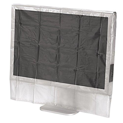 Hama Bildschirm Staubschutz-Hülle (für Monitore von 61 bis 66 cm (24 - 26 Zoll)) transparent