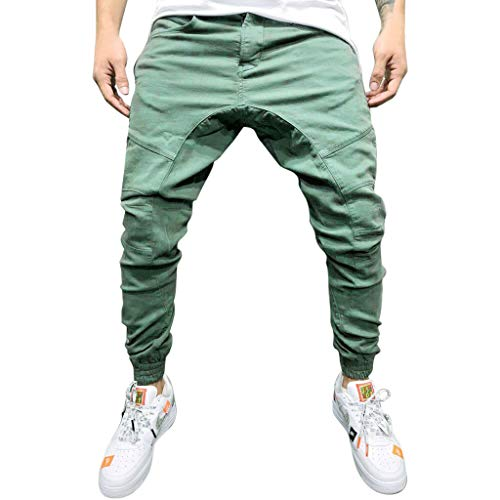Armée Pantalon Fit Pure Sarouel Verte Slim Couleur Deelin Homme Chino Nouveau Style Simple Mode Cargo Casual 66CXxU