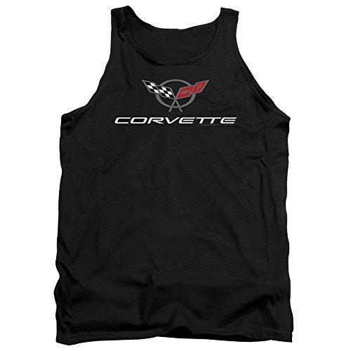 - Tank Top: Chevy- Modern Corvette Logo Size XL